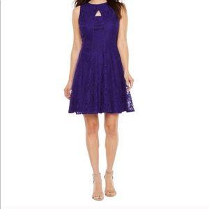 Danny and Nichole Purple Party Dress 12